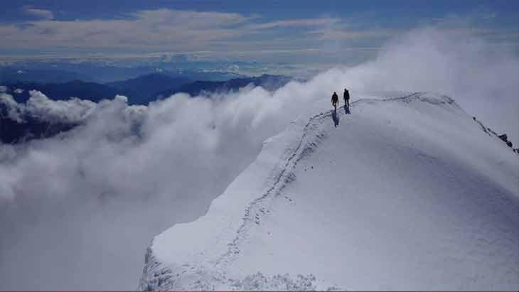 I love mountaineering, Weissmies Traverse (Switzerland) was my first 4000m peak